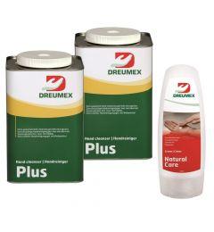 Nettoyant-pour-les-mains-2x-4,5-litres-Plus-+-tube-de-Natural-Care-gratuit