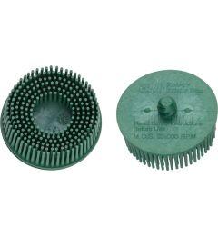 Brosse-disque-grosseur-de-grain-:-50,-vert